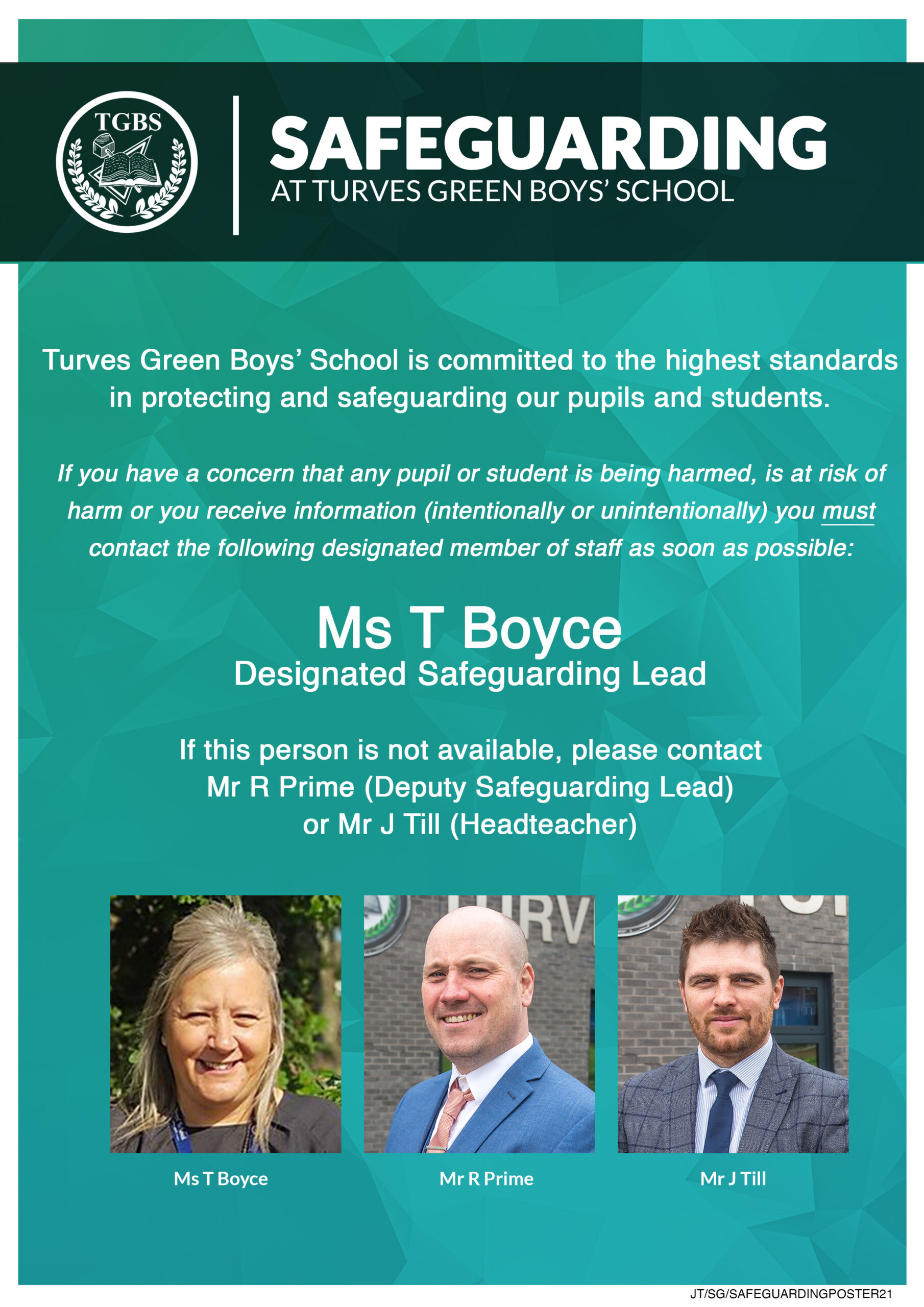 Safeguarding-Poster-TGBS